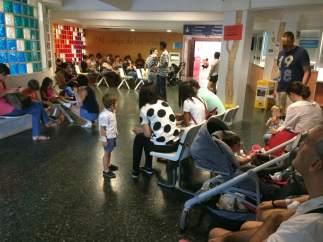 Urgencias de niños de La Paz