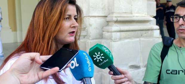 La portavoz de Participa Sevilla, Susana Serrano.