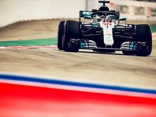 Lewis Hamilton Rusia Sochi