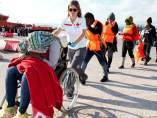 Inmigrantes rescatados llegan a Motril