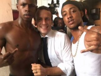 Emmanuel Macron y su foto comprometida