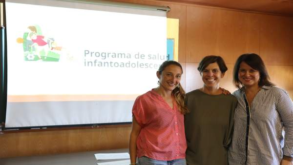 Presentación programa de salud infanto-adolescente