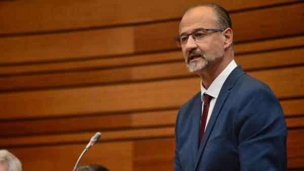 Luis Fuentes, portavoz de Cs.