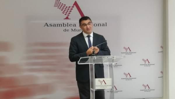 Miguel López-Morell, diputado regional de Ciudadanos
