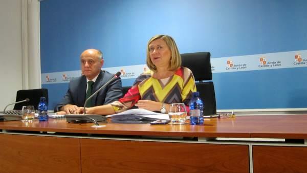 Pilar del Olmo, consejera de Economía y Hacienda.