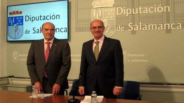 García (I) E Iglesias (D)