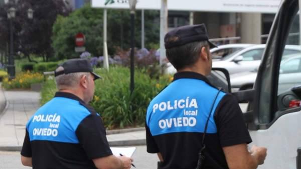 Agentes de Policía Local de Oviedo