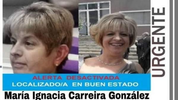 Imagen de la mujer desaparecida en Totana, encontrada