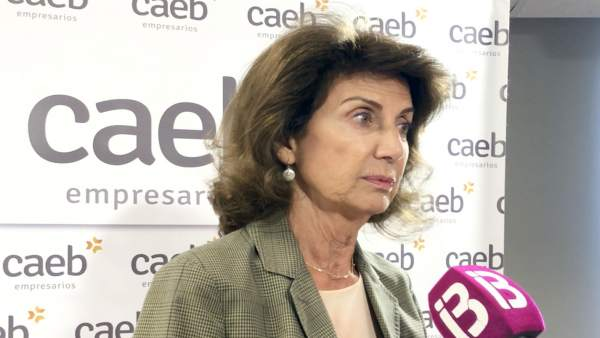 Presidenta de CAEB, Carmen Planas