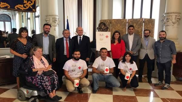 Presentación del Día de la Banderita en el Ayuntamiento