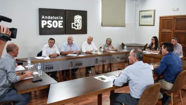 PSOE reunión COAG avispilla del castaño heredia pradas