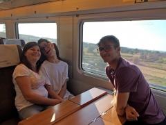 Javier, el primer gran dependiente que disfruta del Interrail