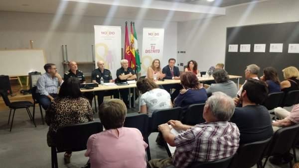 Junta Local de Seguridad en Pino Montano