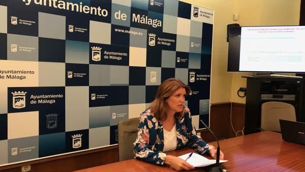 Carmen Casero accesibilidad concejal barreras arquitectónicas