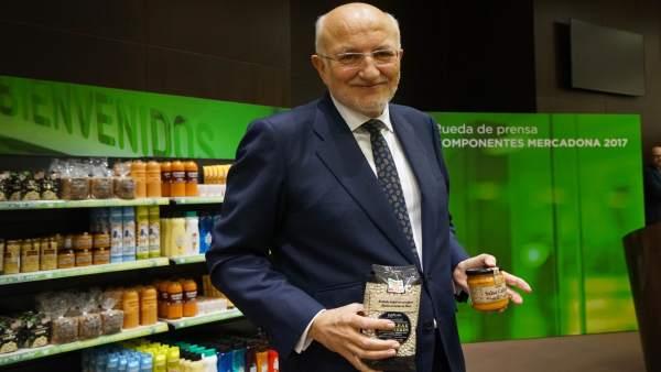 Juan Roig, presidente de Mercadona, en una image de archivo