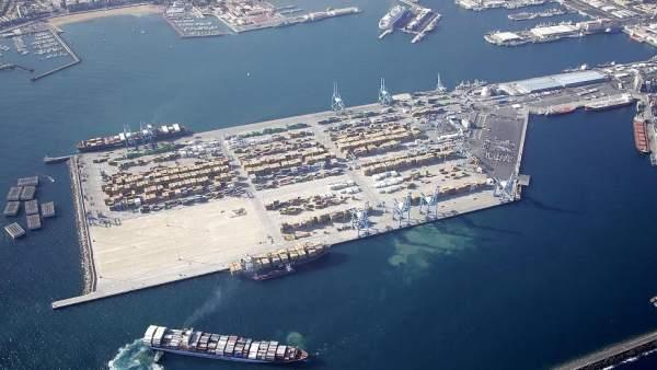 Operaciones Portuarias Canarias en el Puerto de Las Palmas