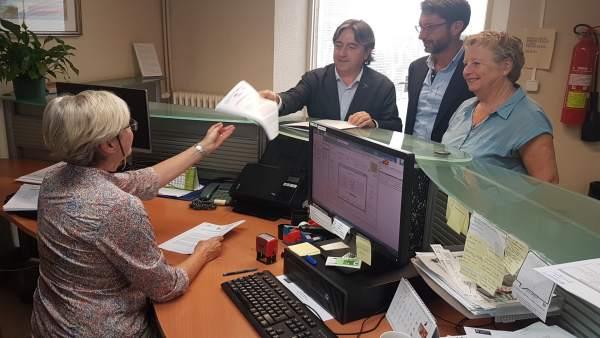 PP, Cs y El PI en el Consell de Mallorca