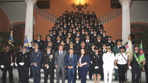 Acto en Sevilla por el Día de la Policía Nacional