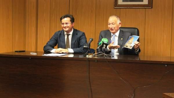 Góngora y Amat, en rueda de prensa tras la firma del convenio