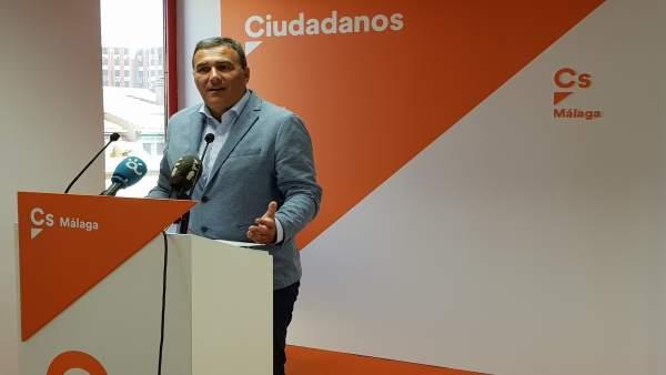 Carlos Hernández White málaga ciudadanos parlamentario