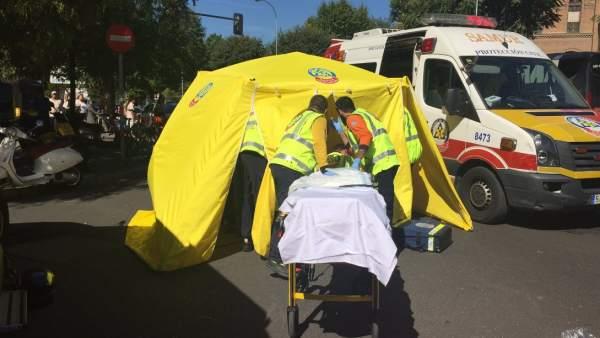 Samur accidente Madrid