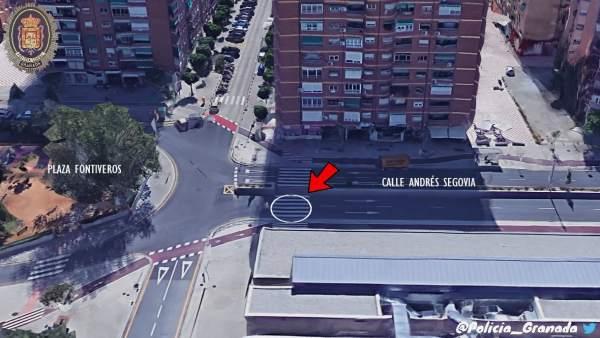 Imagen difundida para localizar a un taxista implicado en un atropello