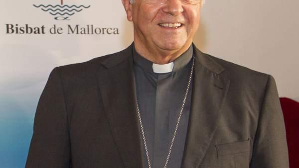El obispo de Mallorca, Sebastià Taltavull