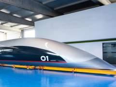 La cápsula Hyperloop, la primera para viajeros.