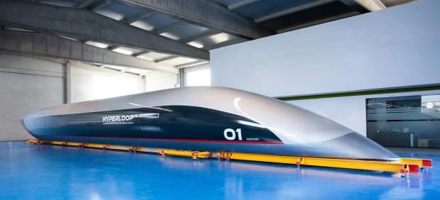 Así será el primer tramo del tubo por el que viajará el Hyperloop a más de 1.000 kilómetros ...