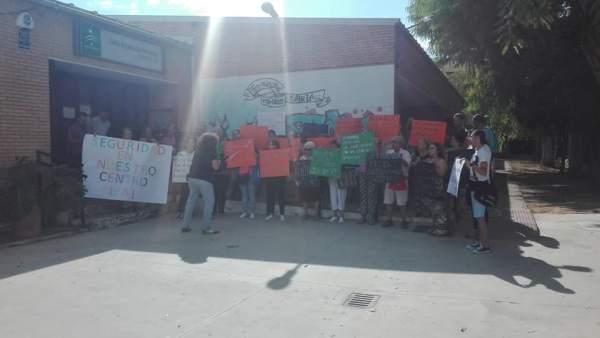 Protesta en el Ceper