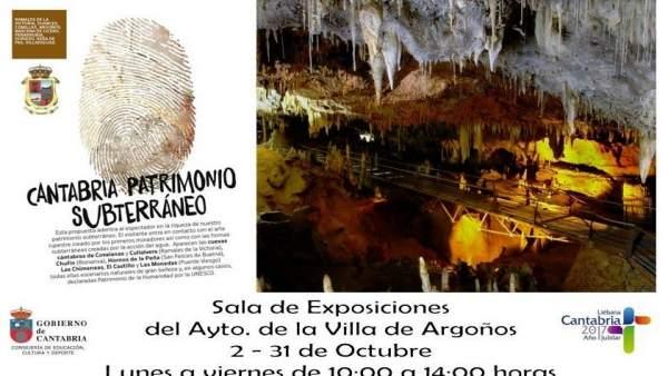 Exposición 'Cantabria, patrimonio subterráneo'