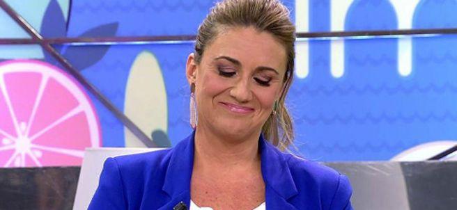 Carlota Corredera, rompe a llorar en el plató de Telecinco al hablar sobre su operación