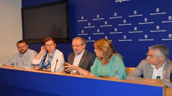 Joan Reñé, con cargos de la Diputación de Lleida tras quedar en libertad