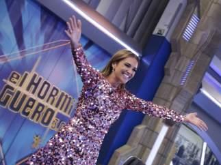 Paula Echevarría en 'El hormiguero'.