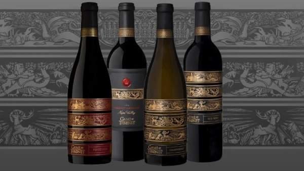 Gama de vinos de Juego de Tronos