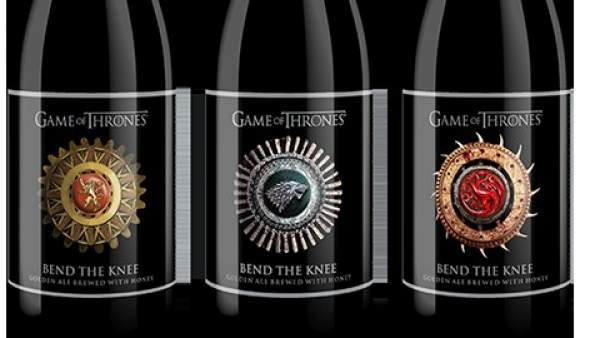 Cervezas de 'Juego de tronos'