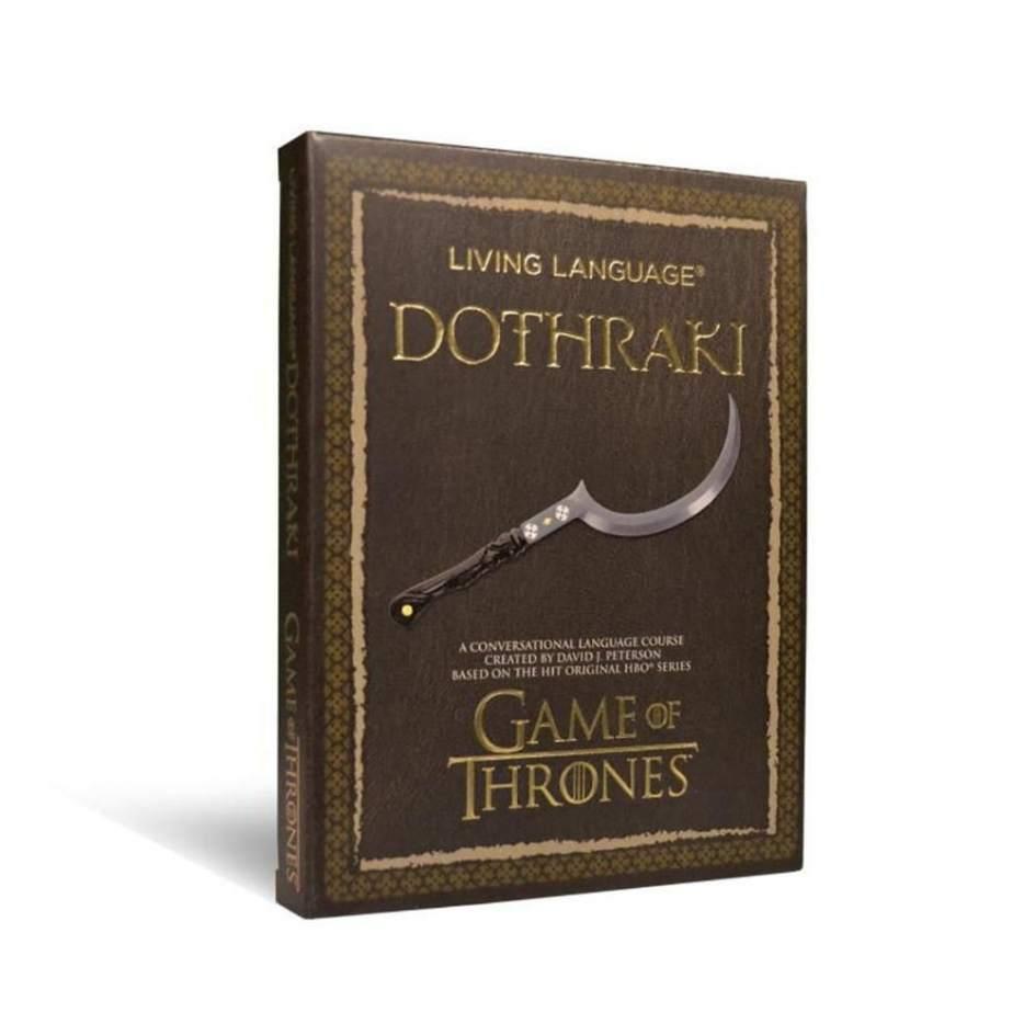 Curso básico de Dothraki (lengua de la saga 'Juego de Tronos')