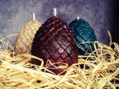Velas de huevo de dragón