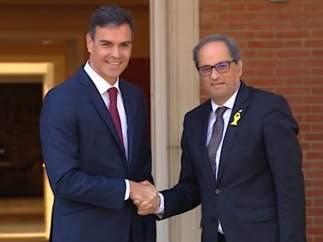 Torra invita a Sánchez a una reunión en la Generalitat.