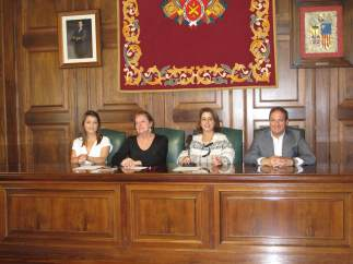 Presentación de los actos de La Partida de Diego, hoy en el Ayuntamiento