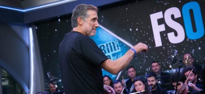 Emilio Aragón en 'El hormiguero'.