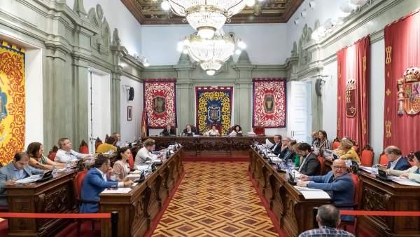 Sesión del Pleno Ordinario del 3 de octubre