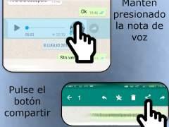 Cómo escuchar audios de voz en Whatsapp sin que la otra persona lo sepa