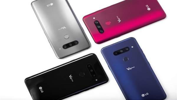 El nuevo modelo LG V40 ThinQ cuenta con cinco cámaras