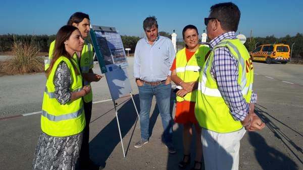 Junta inicia las obras para mejorar la seguridad vial de la A-483.