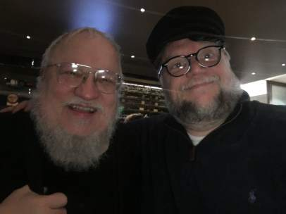 George R.R. Martin y Guillermo del Toro