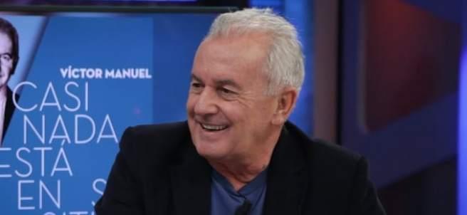 Víctor Manuel en 'El hormiguero'.