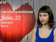 Julia, en 'First Dates'.