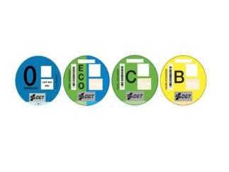Etiquetas ambientales DGT