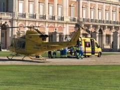 Helicóptero del Summa en Aranjuez
